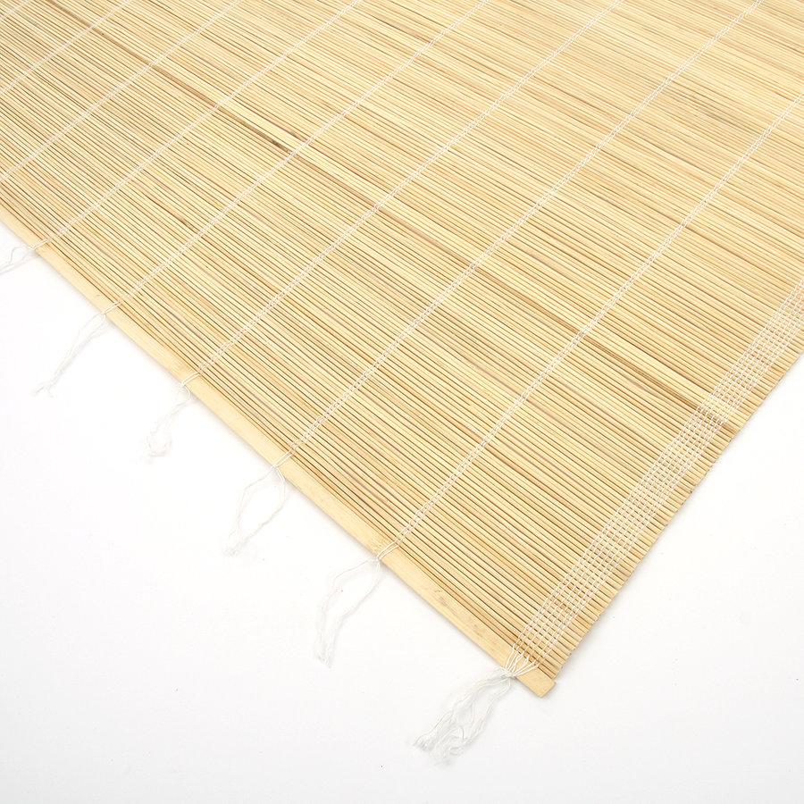 """Bambusová rohož """"štípaný bambus špejle"""" na zeď - délka 200 cm a výška 60 cm"""