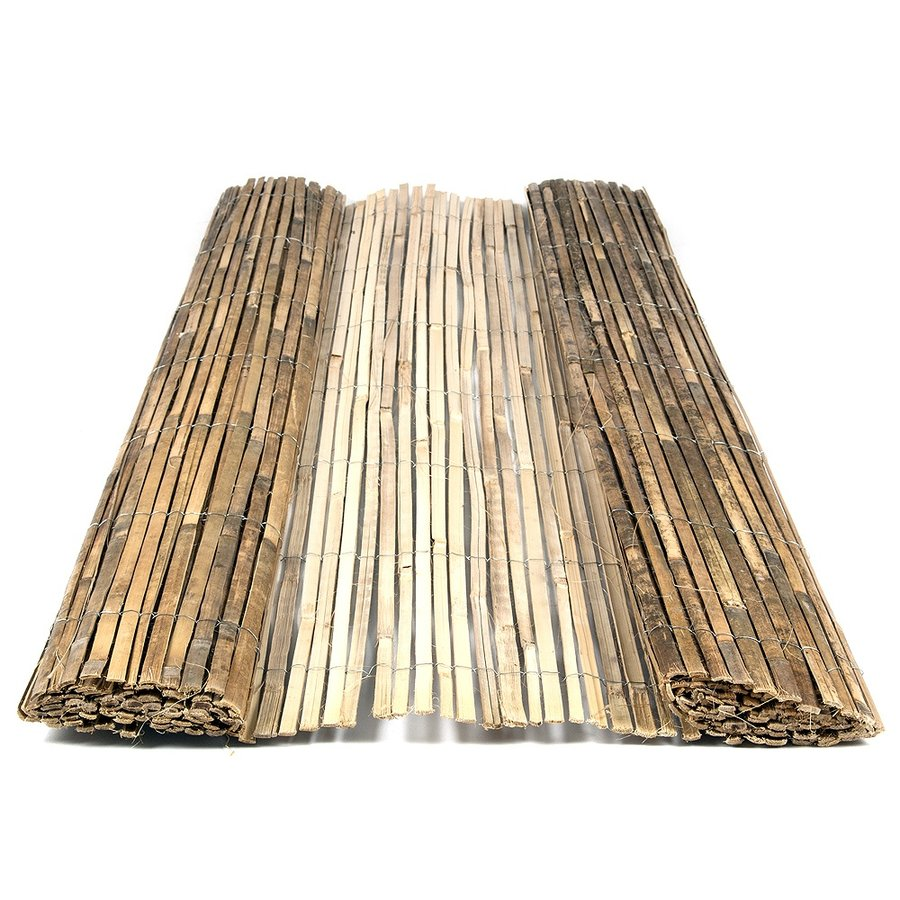 """Bambusová plotová stínící rohož """"štípaný bambus lakovaný"""" - délka 300 cm a výška 150 cm"""