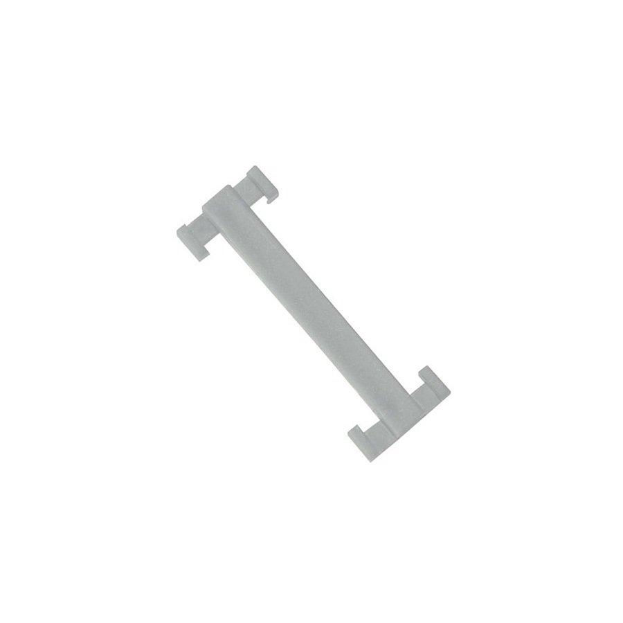 Bílá plastová spojka pro rohože Soft-Step - 4,5 x 1,5 - 10 ks