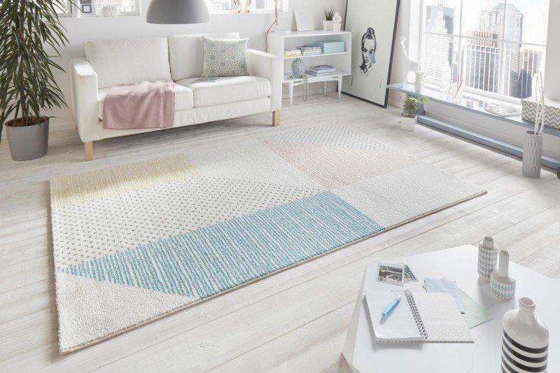 Různobarevný moderní kusový koberec Madison - délka 170 cm a šířka 120 cm