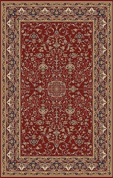 Červený kusový orientální koberec Melody