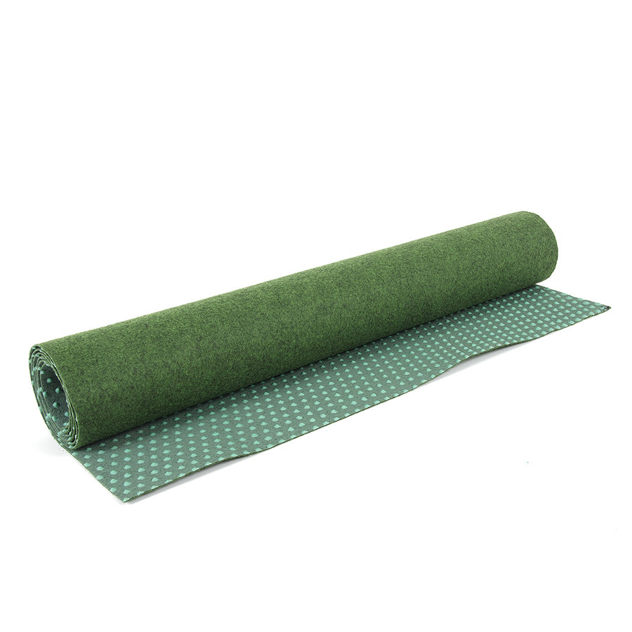 Zelený travní metrážový koberec Basic - šířka 100 cm a výška 0,4 cm