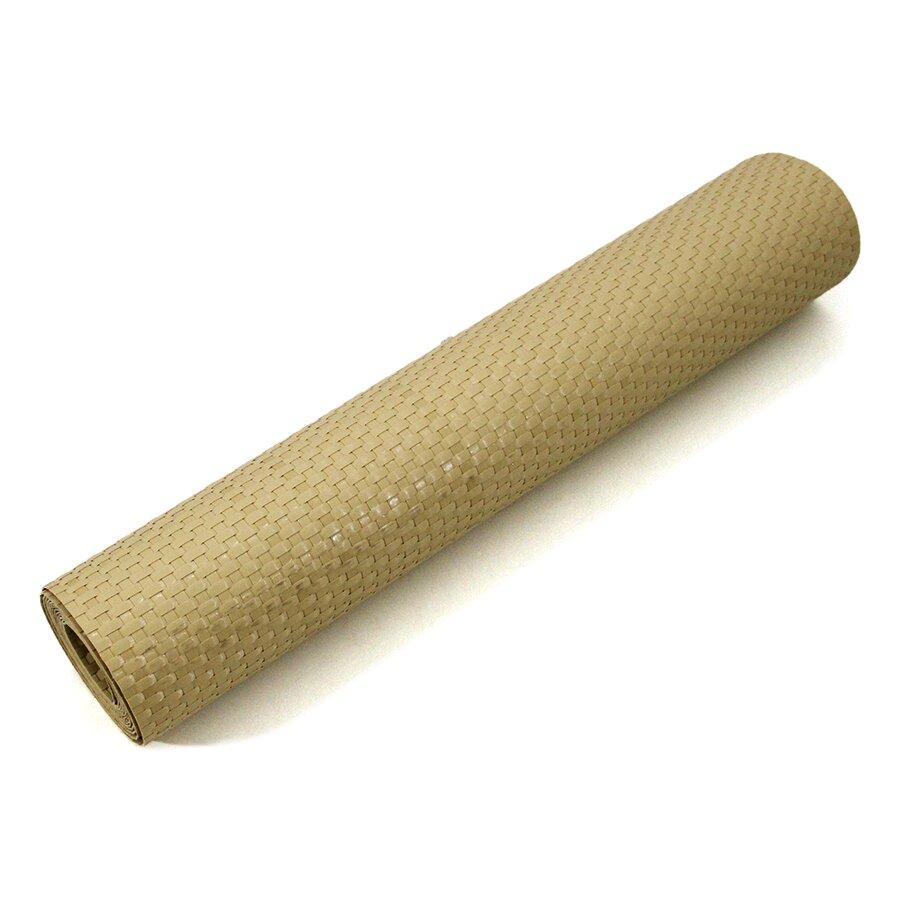 """Béžová plastová ratanová stínící rohož """"umělý ratan"""" (metráž) - 100 cm"""