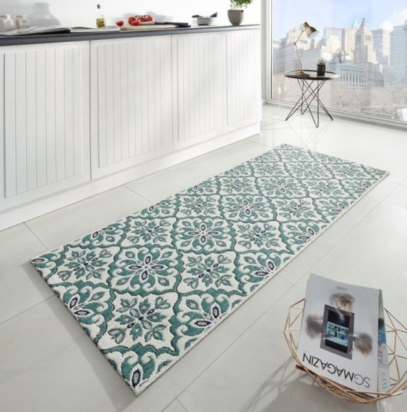 Různobarevný moderní kusový koberec běhoun Soho - délka 200 cm a šířka 80 cm