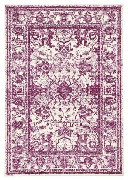 Červený kusový koberec Capri