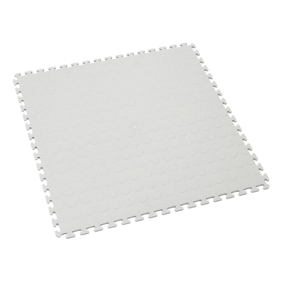 Šedá plastová zátěžová puzzle dlaždice Tenax - 50 x 50 x 0,5 cm