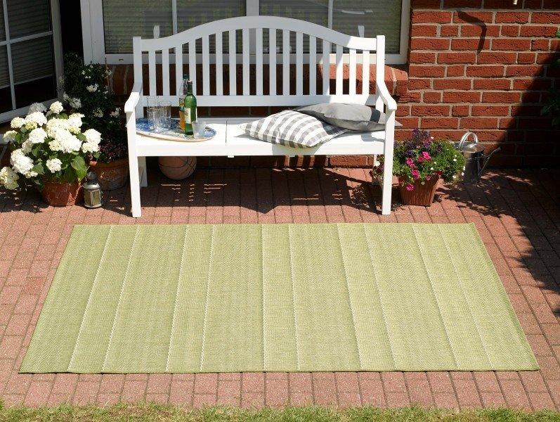 Zelený kusový koberec Sunshine