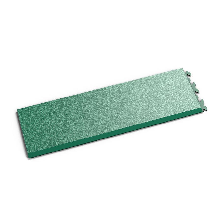 """Zelený vinylový plastový nájezd """"typ A"""" Invisible 2035 (hadí kůže), Fortelock - délka 46,8 cm, šířka 14,5 cm a výška 0,67 cm"""