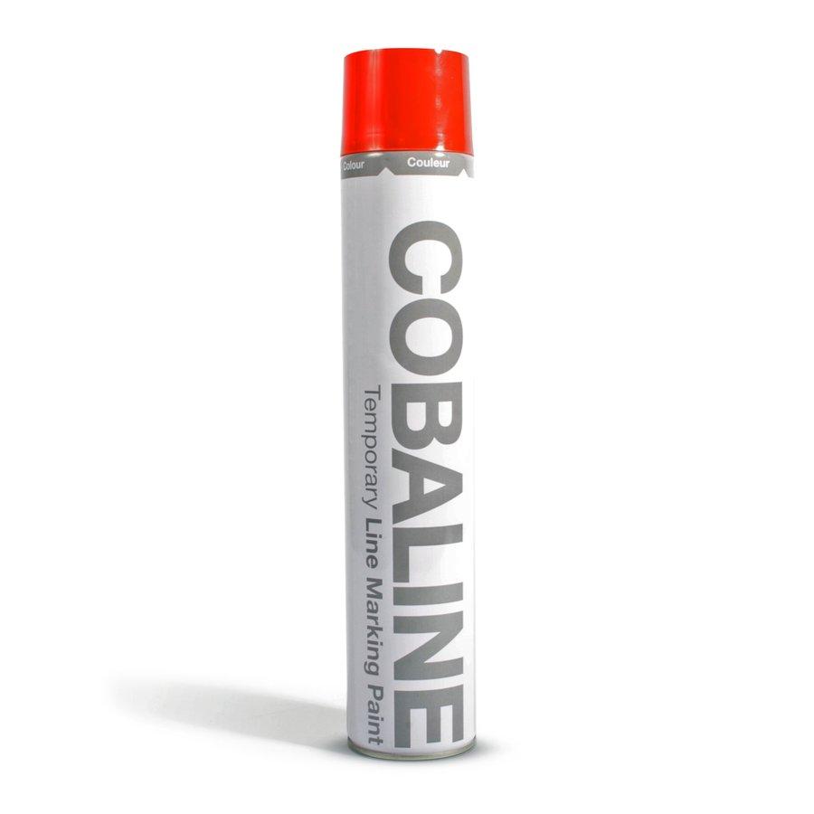 Červená krátkodobá rychleschnoucí aerosolová barva - 750 ml (80000266)