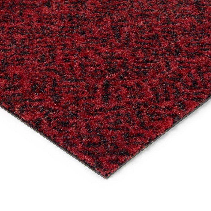 Červená kobercová vnitřní čistící zóna Cleopatra Extra, FLOMAT - výška 1 cm