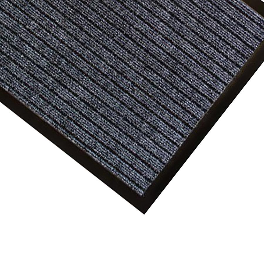 Černá textilní vstupní rohož Popular - délka 40 cm a šířka 60 cm (85698587)