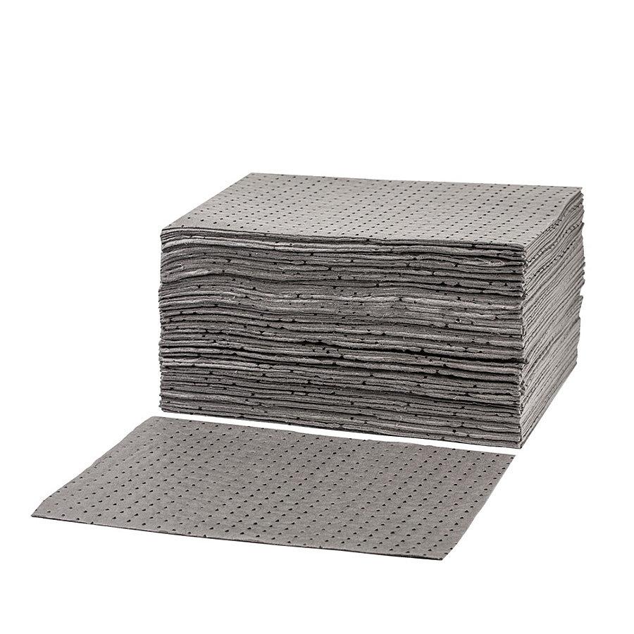 Univerzální střední odolná sorpční podložka - délka 50 cm a šířka 40 cm - 100 ks