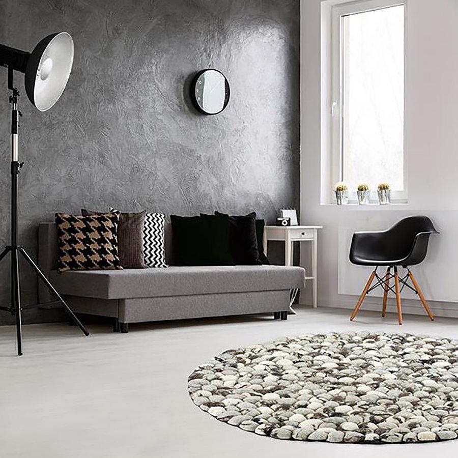Šedý kusový luxusní koberec Stepstone