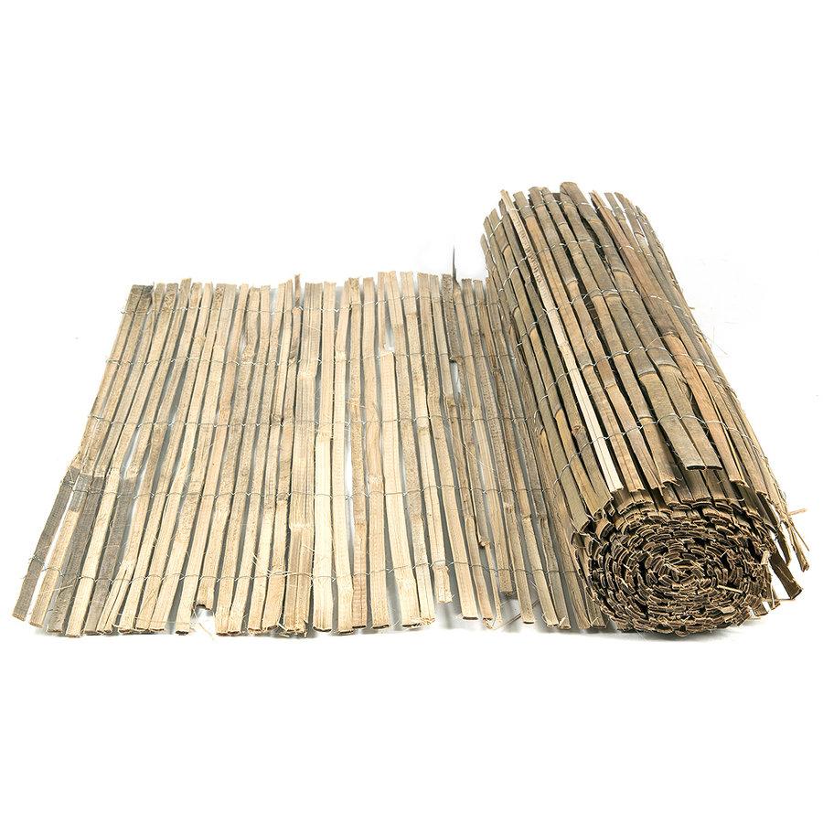 """Bambusová stínící plotová rohož """"štípaný bambus nelakovaný"""" - délka 500 cm a výška 100"""