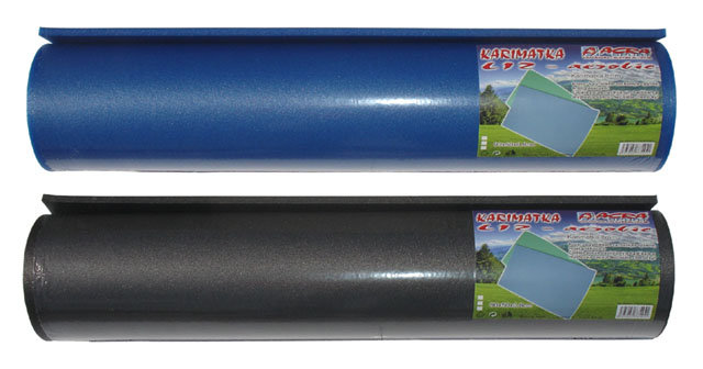 Gymnastická podložka na cvičení - délka 90 cm, šířka 50 cm a výška 0,8 cm