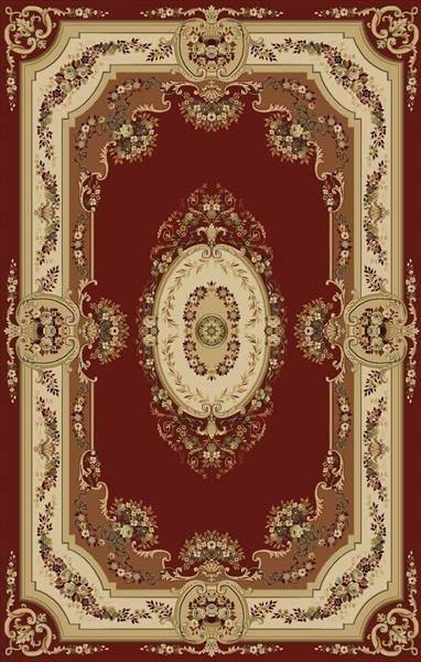 Červený nebo béžový kusový koberec Melody