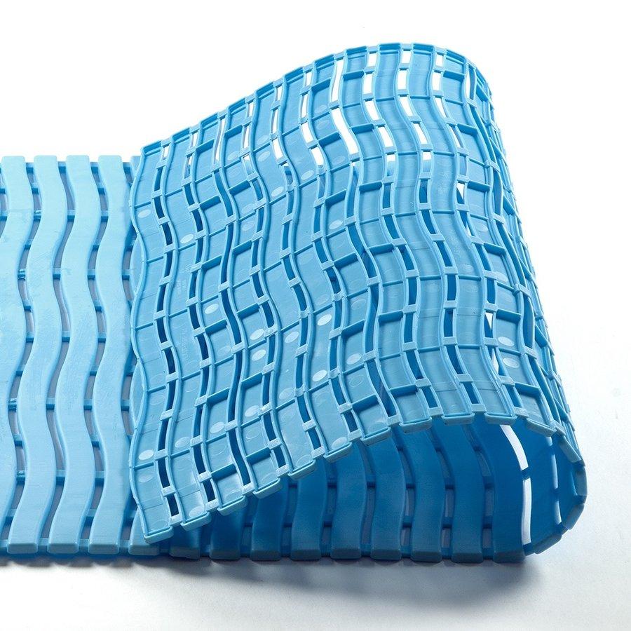 Modrá bazénová metrážová rohož - šířka 60 cm a výška 0,9 cm