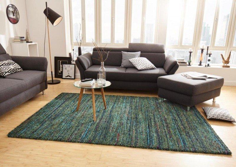 Zelený moderní kusový koberec Nomadic - délka 150 cm a šířka 80 cm