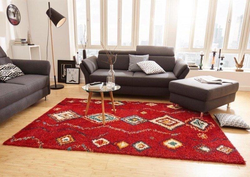 Různobarevný kusový moderní koberec Nomadic