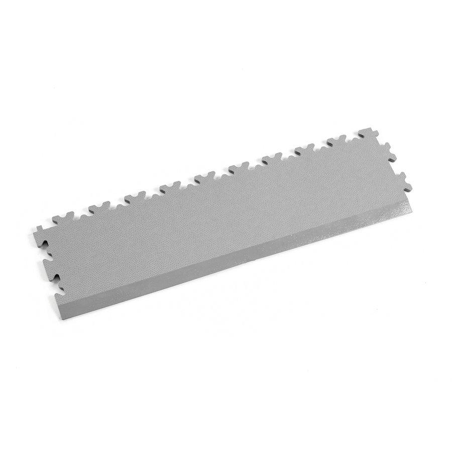 Šedý plastový vinylový nájezd 2025 (kůže), Fortelock - délka 51 cm, šířka 14 cm a výška 0,7 cm