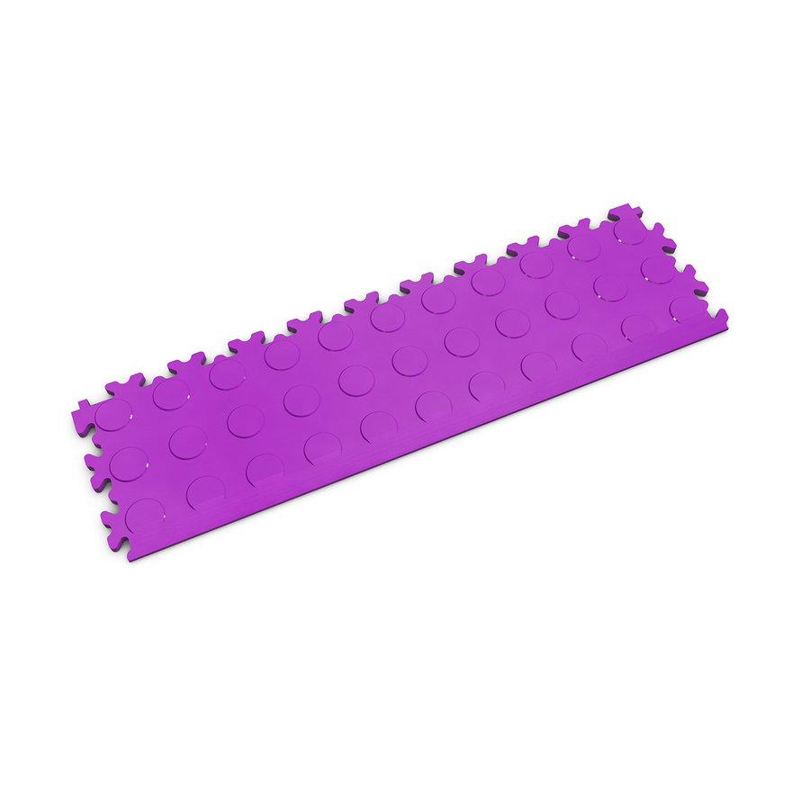 Fialový plastový vinylový nájezd 2045 (penízky), Fortelock - délka 51 cm, šířka 14 cm a výška 0,7 cm