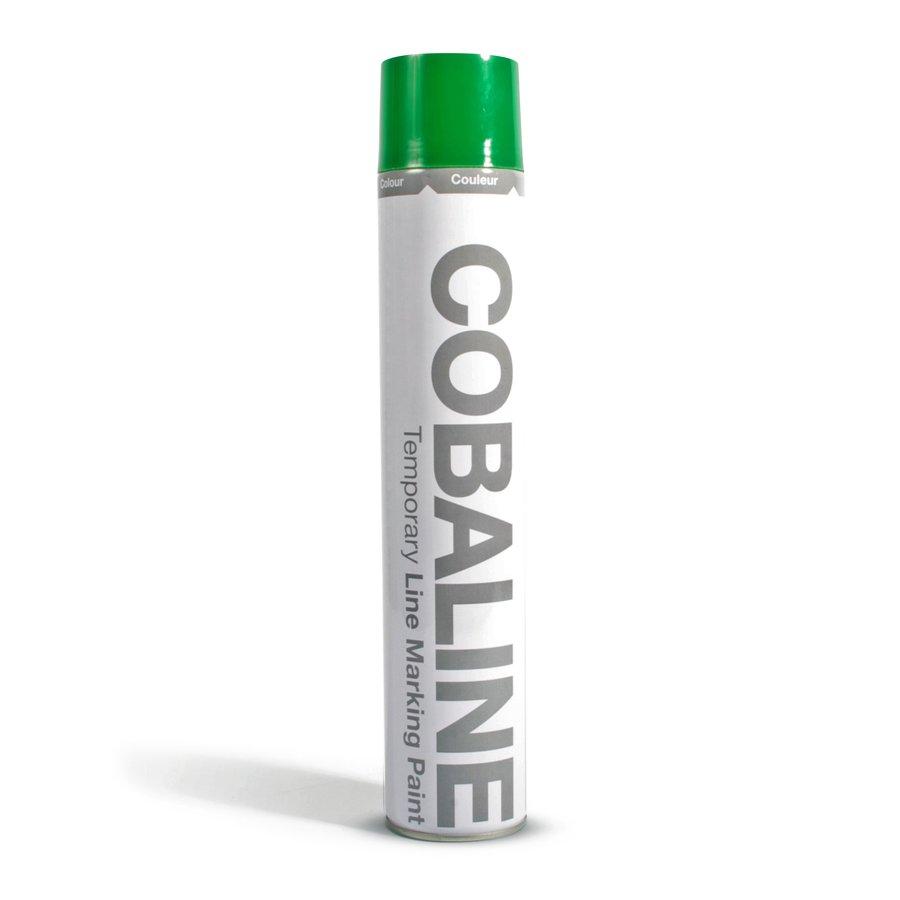 Zelená krátkodobá rychleschnoucí aerosolová barva - 750 ml (80000267)