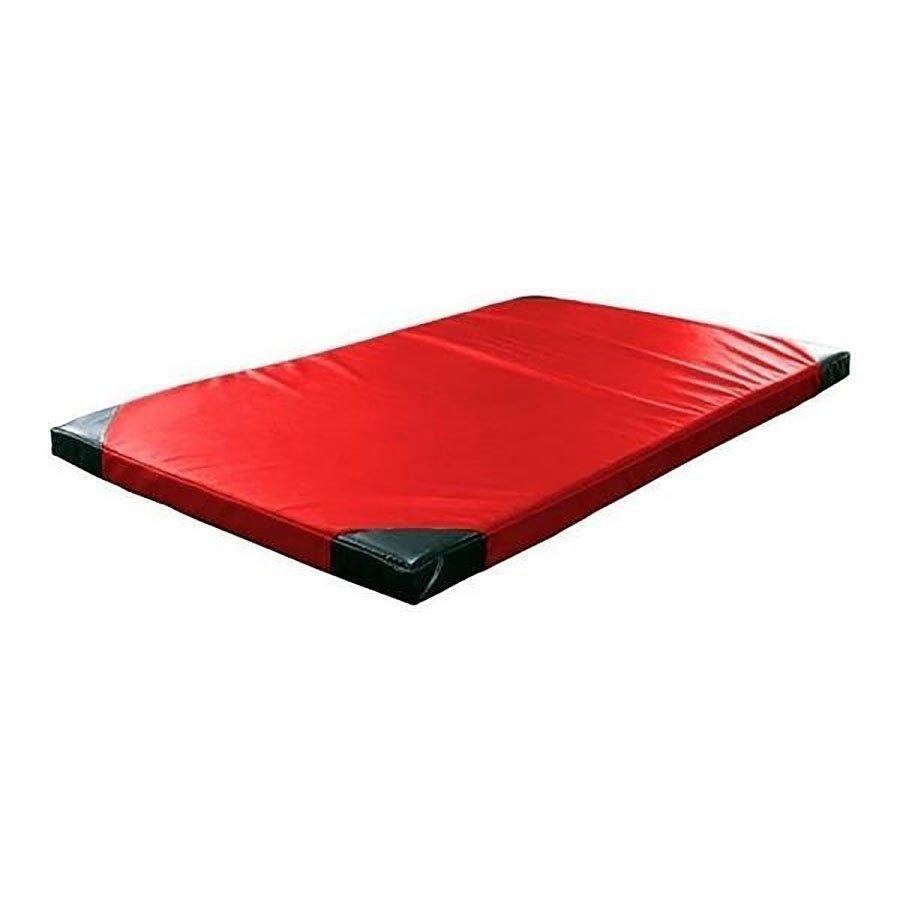 Červená žíněnka (tvrdost T90) GYMAT 04 - délka 200 cm, šířka 120 cm a výška 5 cm