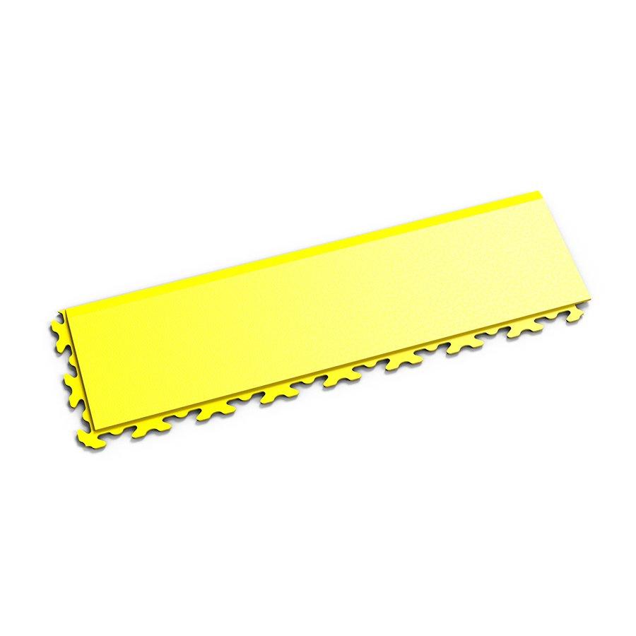"Žlutý vinylový plastový nájezd ""typ B"" Invisible 2034 (hadí kůže), Fortelock - délka 46,8 cm, šířka 14,5 cm a výška 0,67 cm"