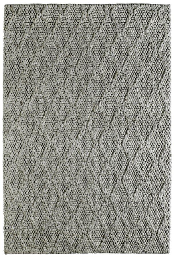 Šedý kusový orientální koberec Studio
