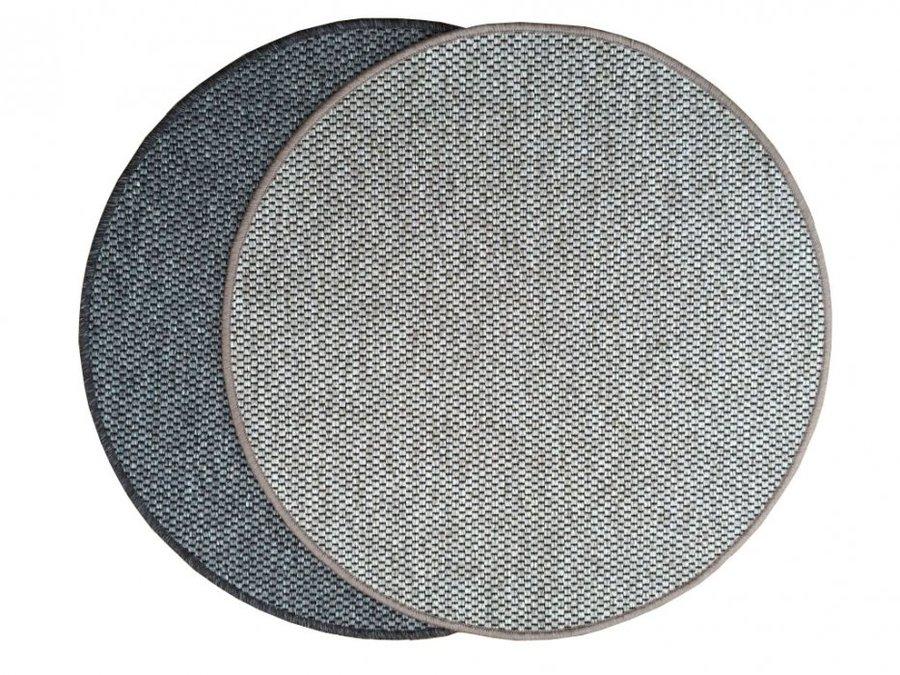 Hnědý kusový koberec Nature