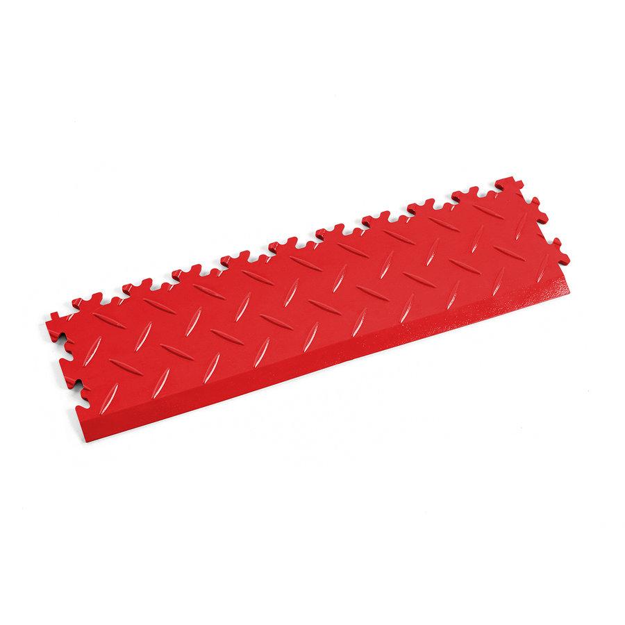 Červený plastový vinylový nájezd 2015 (diamant), Fortelock - délka 51 cm, šířka 14 cm a výška 0,7 cm