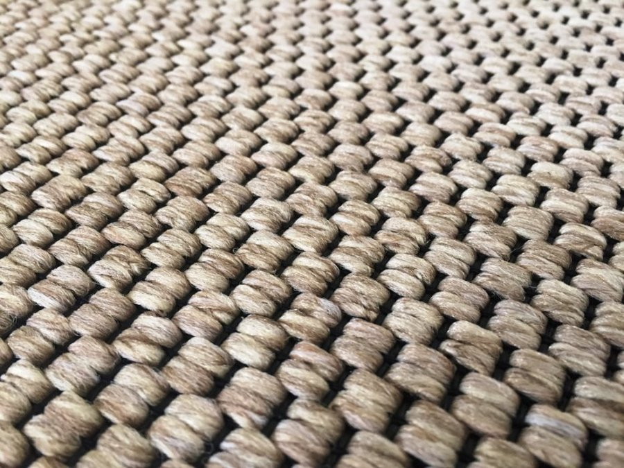 Béžový metrážový koberec Nature - šířka 400 cm