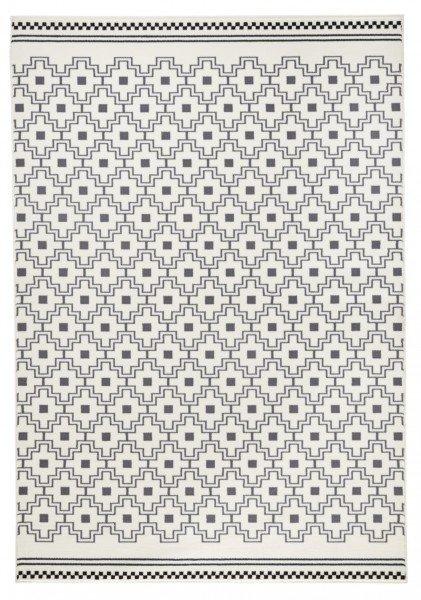 Šedý kusový koberec Capri