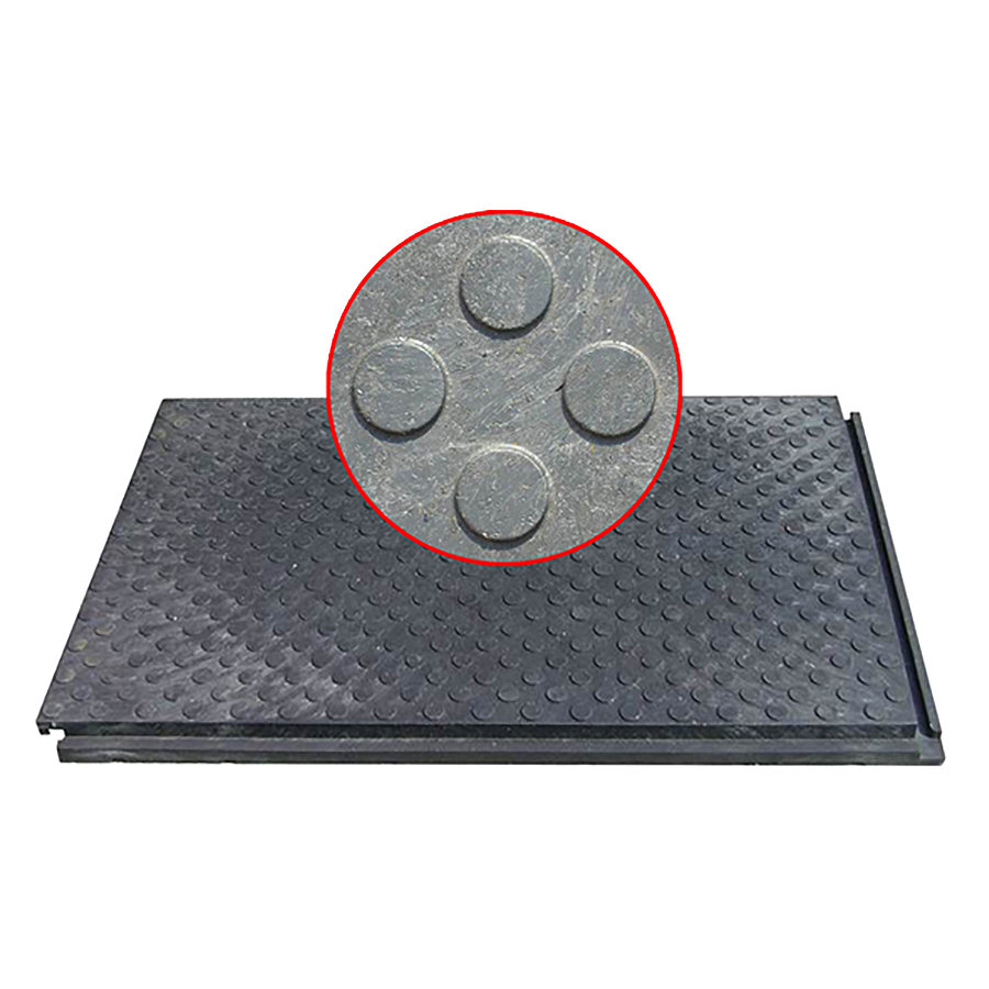 Plastová podlahová zátěžová deska - délka 120 cm, šířka 80 cm a výška 4,3 cm
