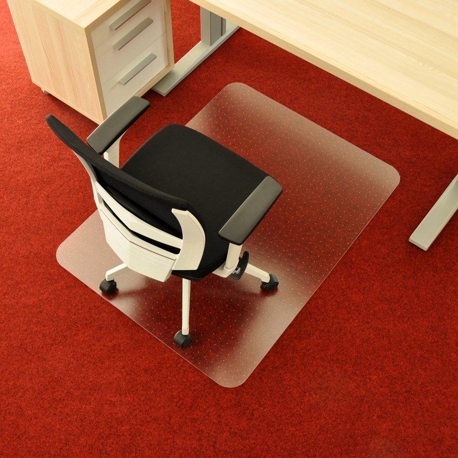Čirá podložka na koberec pod židli - délka 120 cm, šířka 90 cm a výška 0,3 cm