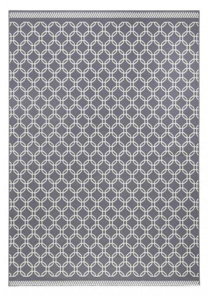 Šedý kusový moderní koberec Capri