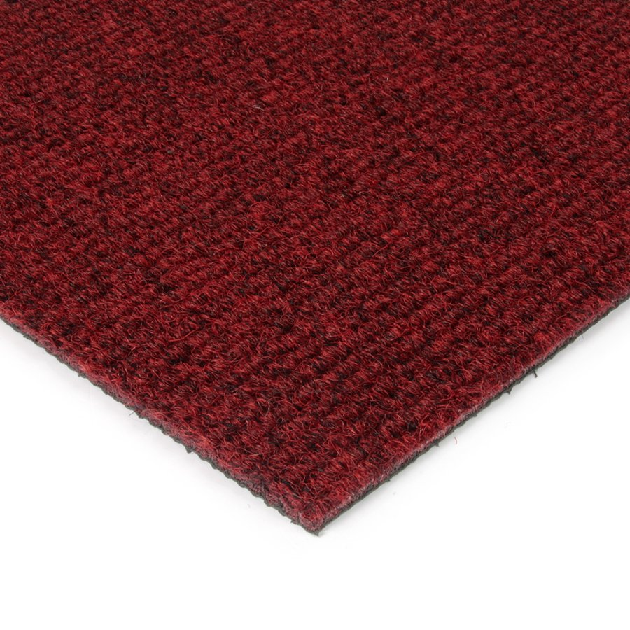 Červená kobercová vnitřní čistící zóna Catrine, FLOMAT - výška 1,35 cm