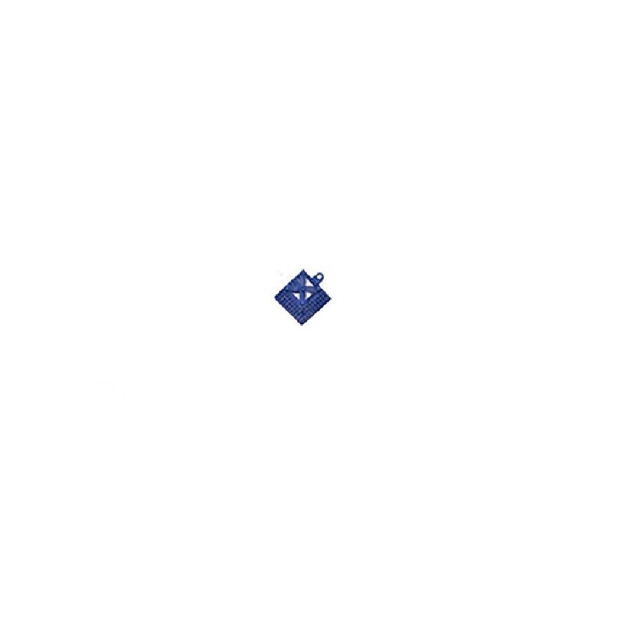 Modrý náběhový roh pro dlaždice Lok-Tyle - 5 cm x 5 cm  x 1,43 cm