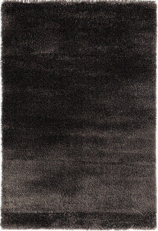 Antracitový kusový koberec Carmella