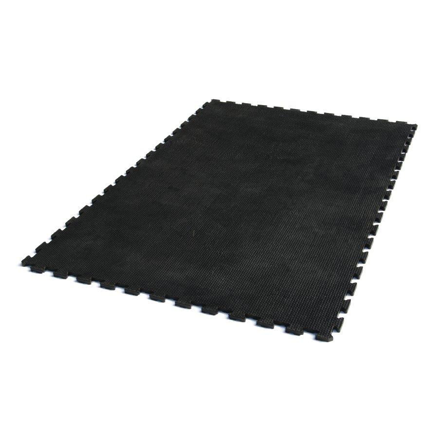 Gumová zátěžová podlahová rohož Durable, FLOMAT - délka 180 cm, šířka 120 cm a výška 2 cm