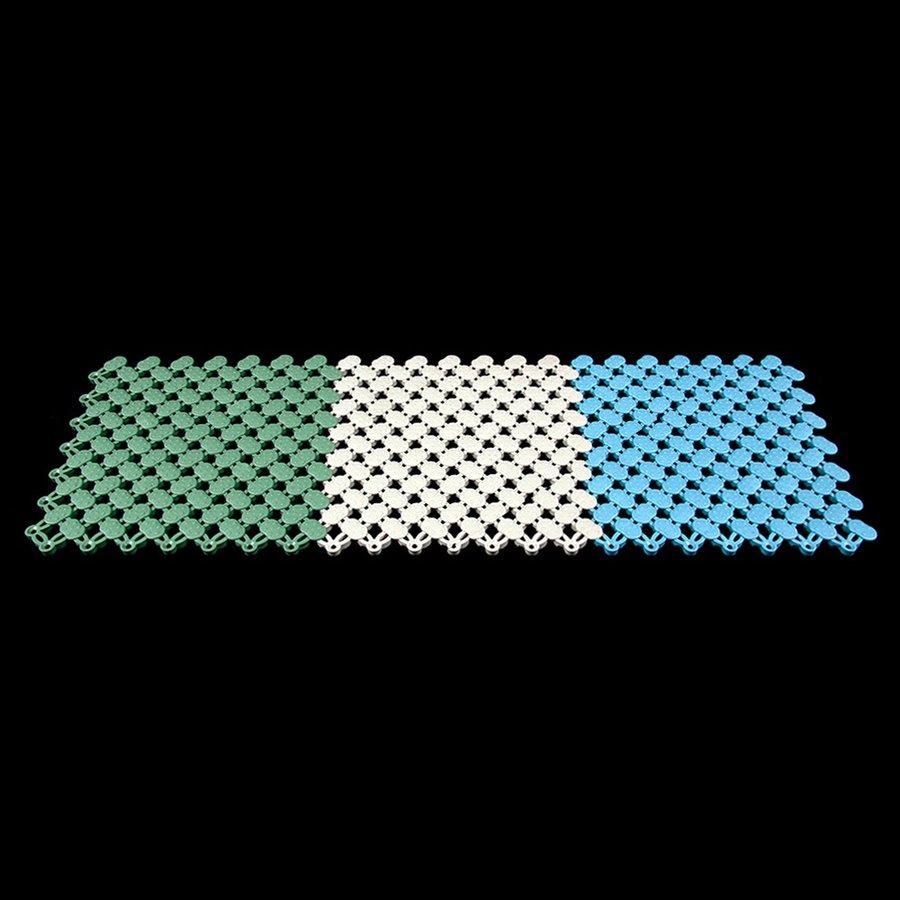Béžová modulární bazénová rohož FLOMA - délka 20 cm, šířka 20 cm a výška 0,8 cm