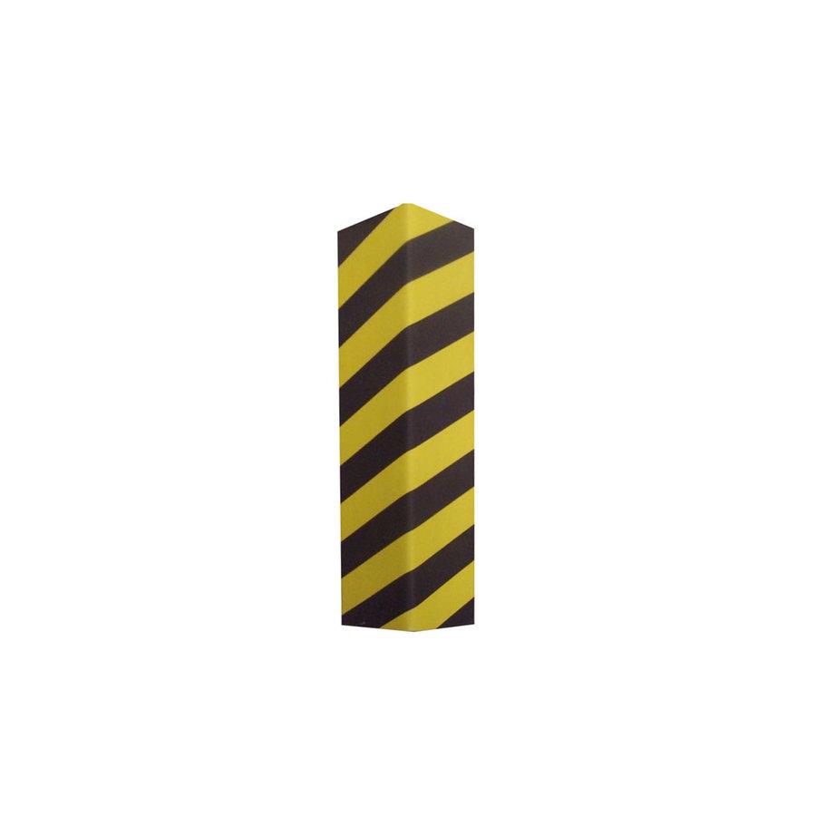 Černo-žlutý pěnový roh na ochranu stěn - šířka 12,5 cm
