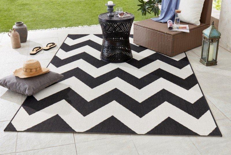 Různobarevný kusový moderní koberec Meadow - délka 170 cm a šířka 120 cm
