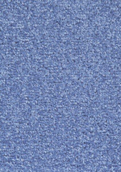 Modrý kusový koberec Nasty - délka 150 cm a šířka 80 cm