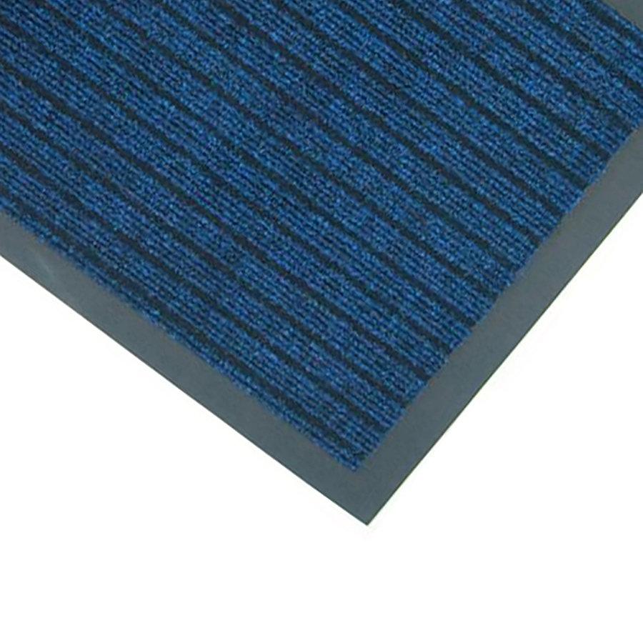 Modrá textilní vstupní rohož Popular - délka 40 cm a šířka 60 cm (85698589)