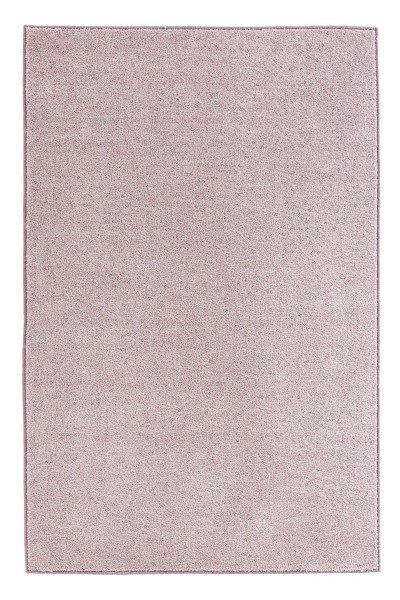 Růžový kusový koberec Pure - délka 400 cm a šířka 80 cm