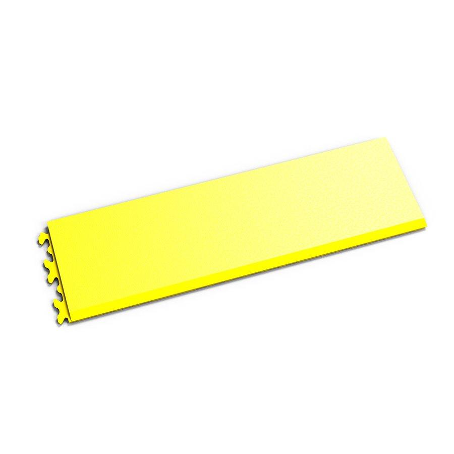 """Žlutý vinylový plastový nájezd """"typ C"""" Invisible 2033 (hadí kůže), Fortelock - délka 46,8 cm, šířka 14,5 cm a výška 0,67 cm"""