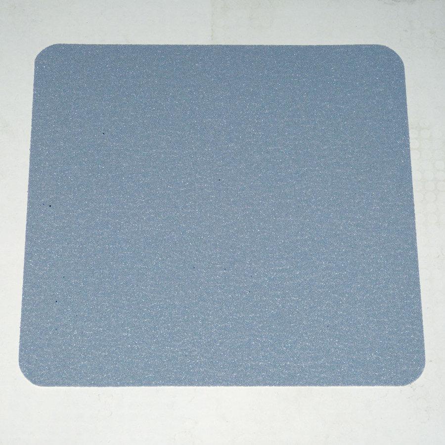 Šedá korundová protiskluzová samolepící páska (dlaždice) - délka 24 cm a šířka 24 cm