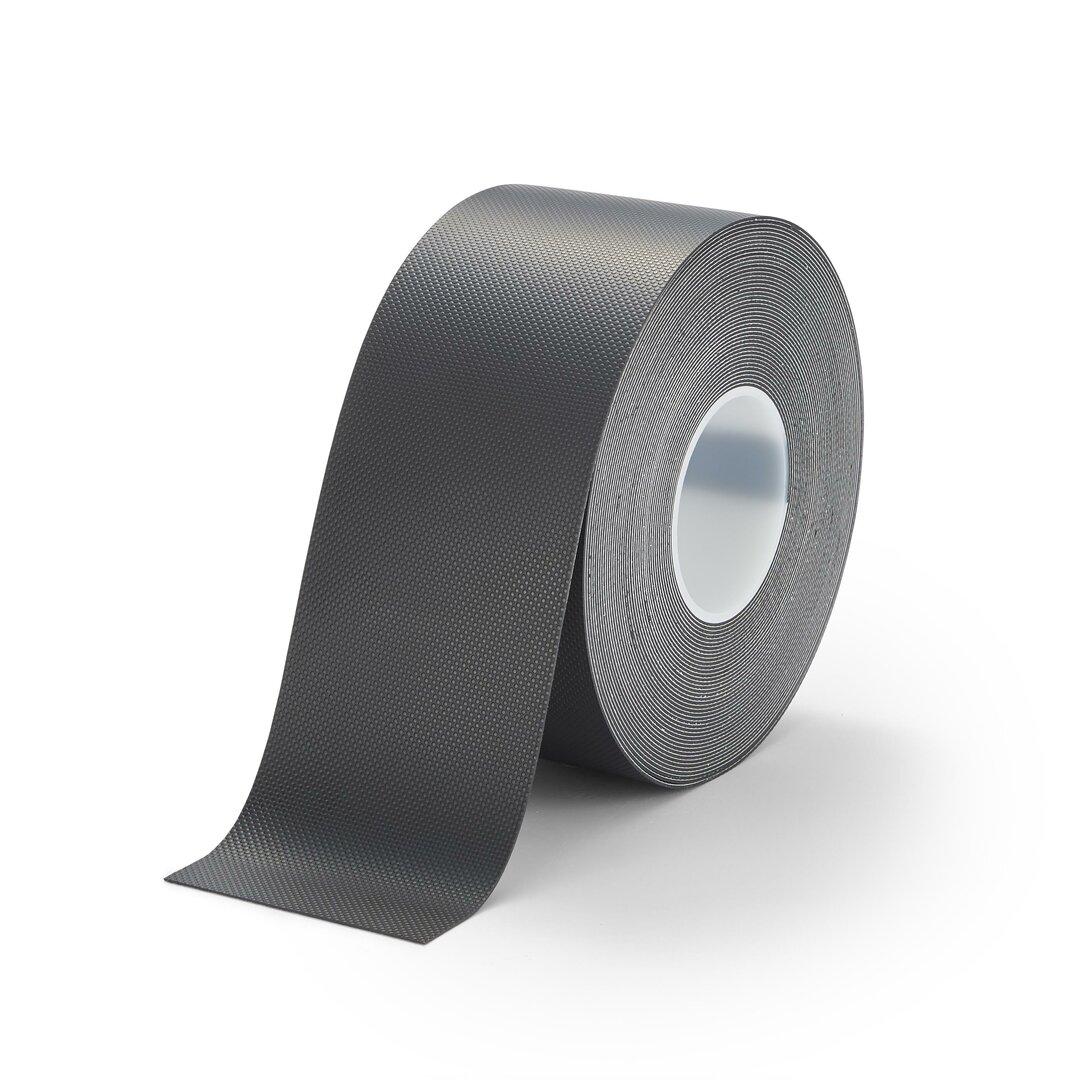 Černá protiskluzová páska na zábradlí FLOMA Handrail Grip - 18,3 m x 10 cm a tloušťka 1,11 mm
