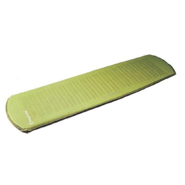 Zelená samonafukovací karimatka - délka 183 cm, šířka 51 cm a výška 2,5 cm
